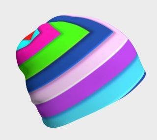 Aperçu de Beanie In Hip To Be  Square Pattern