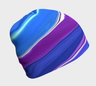 Aperçu de Bluebells abstract beanie