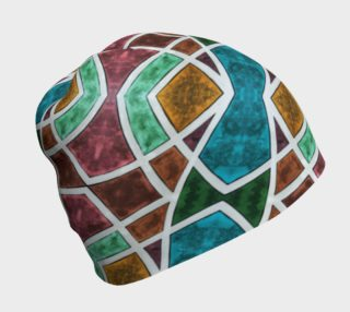 Geometric Marble Beanie preview