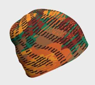 Abstract Animal Stripes Beanie preview