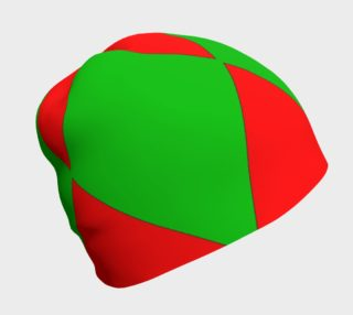 Christmas Harlequin Diamond Beanie preview