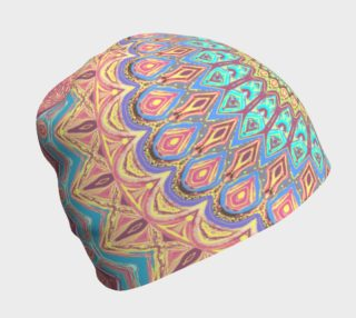 Jewel Faded Mandala Beanie preview