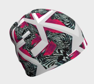 Abrica-Zebra Optical-Maze Beanie preview
