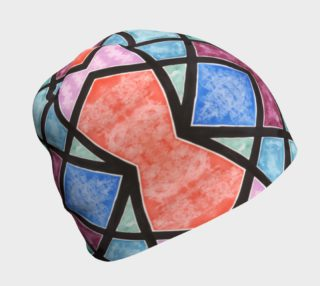 Colorful Stained Glass III Beanie preview