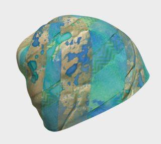 Aperçu de washi and watercolor, blue green gold