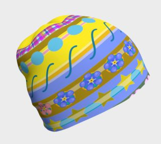 Stripe Yellow Hat preview