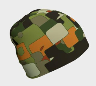 Camouflage Abstract Beanie  preview