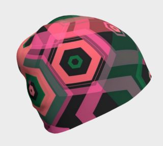 Sherbert Geometric Beanie  preview