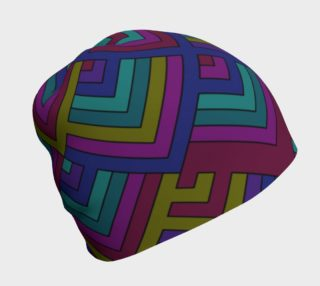 Geometric Pattern Beanie  preview