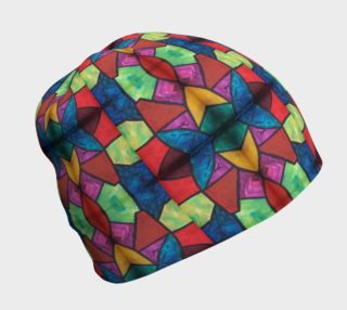 Flower Stained Glass Beanie preview