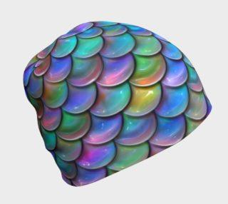 Ocean Rainbow Mermaid Toque/Beanie preview