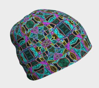 Peace Stained Glass Beanie preview