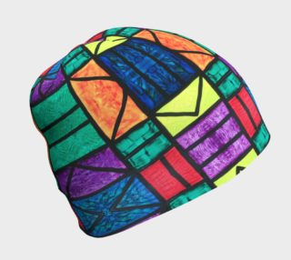 SW Detroit Stained Glass Beanie  preview