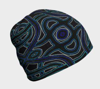 Lapis Lazuli Lattice Beanie preview