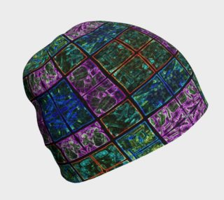 Amethyst Stained Glass Beanie preview