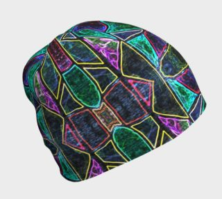 Tourmaline Stained Glass Beanie preview