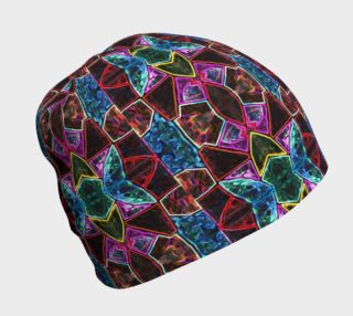 Corinthian Rose Stained Glass Beanie preview
