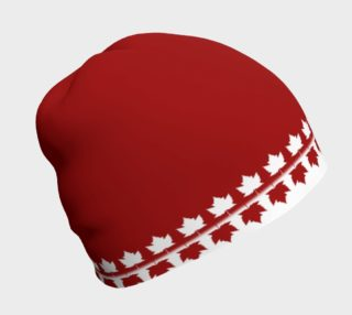Canada Beanie Cap Canada Toque Maple Leaf Hat preview