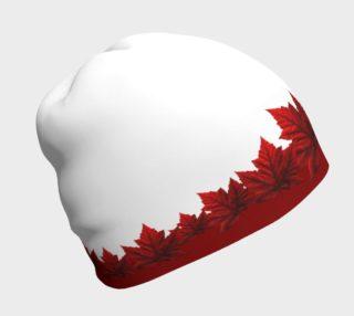 Canada Beanie Cap Canada Toque Maple Leaf Hats preview