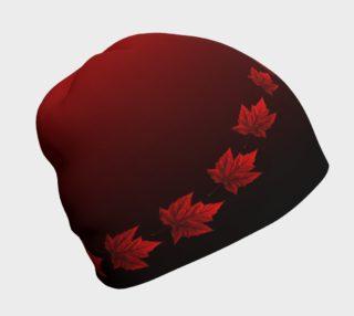 Canada Souvenir Tougue Canada Maple Leaf Beanie Cap preview
