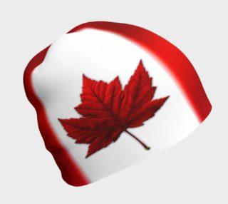 Canada  Flag Beanie Cap Canada Toque Flag Hat preview