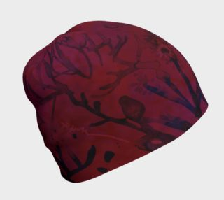 Aperçu de Very Cranberry beanie hat