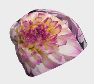 Aperçu de Pink Dahlia Beanie