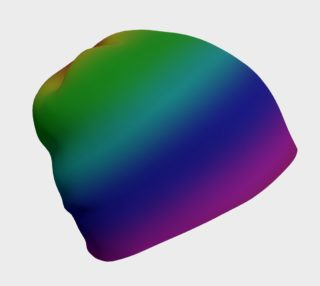 Dark Rainbow Ombre Beanie preview