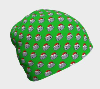 Santa Hippo-Green Beanie preview