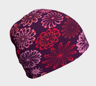 Bold Color Pinwheels Beanie preview
