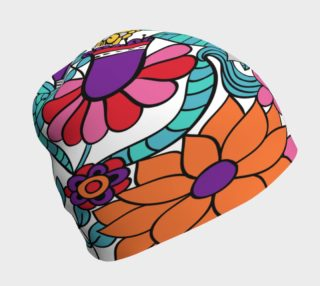 Bright Flowers Beanie preview