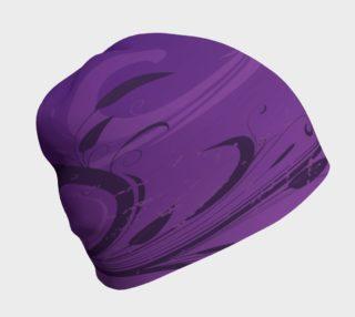 Purple Grunge Beanie preview