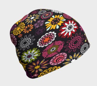 Bright Flowers Beanie 2 preview