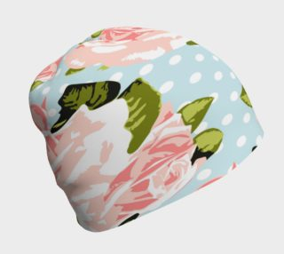 Shabby Chic Roses Beanie preview