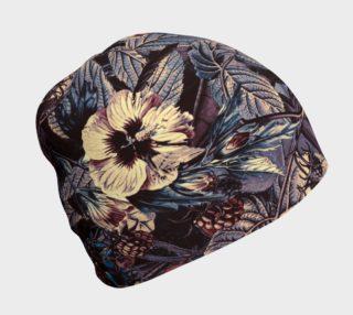 Aperçu de beanie flowers dark