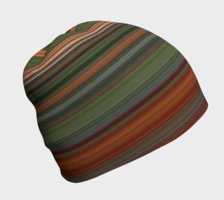 Aperçu de Colored Stripes Beanie