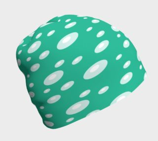 Pearls on Green Beanie preview