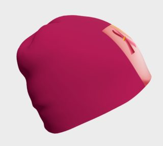 Aperçu de Hot Pink Breast Cancer Awareness Beanie