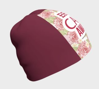 Aperçu de Breast Cancer Awareness Roses Beanie