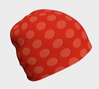 Aperçu de Orange Dots Beanie