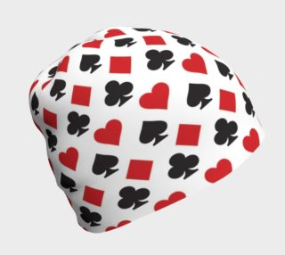 Casino - Hearts, Clubs, Spades, Diamonds White Background preview