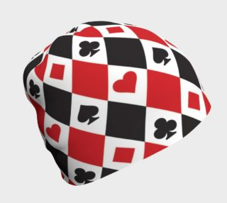 Casino - Hearts, Clubs, Spades, Diamonds Harlequin Pattern preview