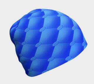 Aperçu de Blue Upholstered Beanie