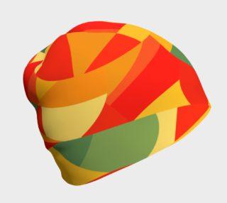 Bright Geometric Beanie preview