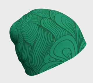 Green String Theory Beanie preview