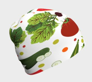 Eat Your Fruit and Veggies Beanie preview