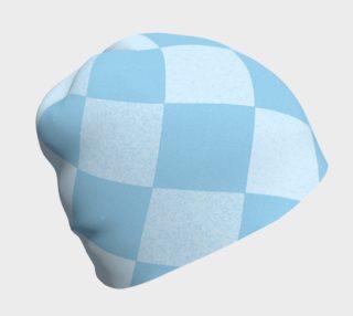 Aperçu de Shades of Blue Argyle Beanie 2