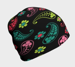 Neon Paisley Beanie preview