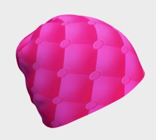 Aperçu de Hot Pink Upholstery Beanie