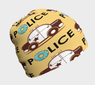A Plethora of Police Cars Beanie preview